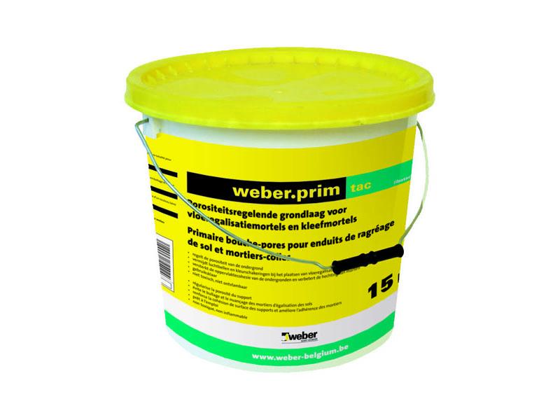 Weber prim tac primer vloer kleefmortels weber prim tac from profshop - Weber prim rp ...