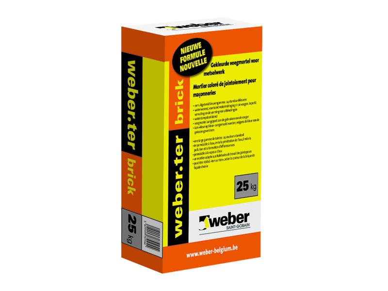Weber Ter Brick Voegmortel Weber Ter Brick From Profshop