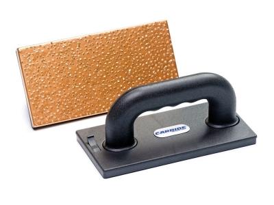 CARBIDE handgreep met magneet voor losse schuurplaten 280x140 mm